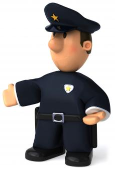 Free Stock Photo of Police officer
