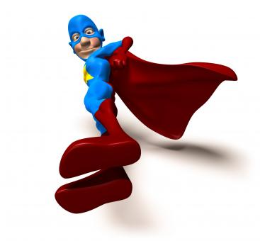 Free Stock Photo of Superhero
