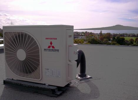Free Stock Photo of Mitsubishi Air Conditioner