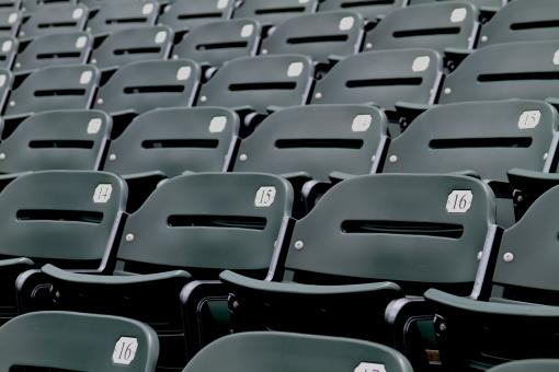 Free Stock Photo of Stadium seating
