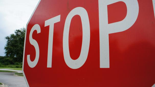 Free Stock Photo of Stop Sign