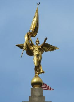 Free Stock Photo of Winged Victory 1st Army Division Monumen