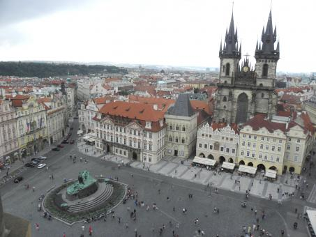 Free Stock Photo of Old Square in Prague