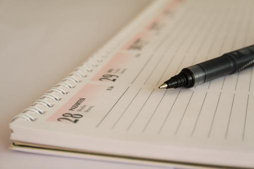 Free Stock Photo of Calendar Agenda