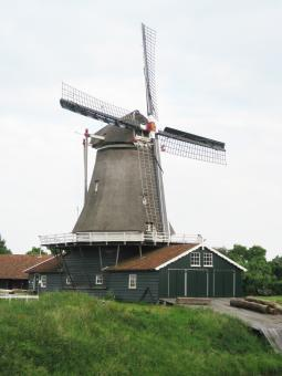 Free Stock Photo of Dutch mill