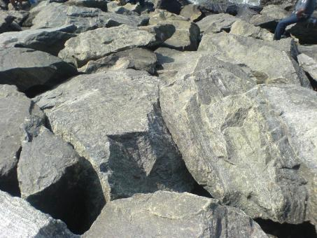 Free Stock Photo of Rock Texture