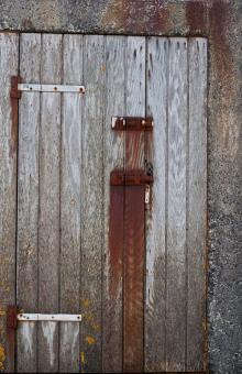 Free Stock Photo of Old Wooden Door