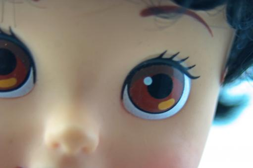 Free Stock Photo of Doll face