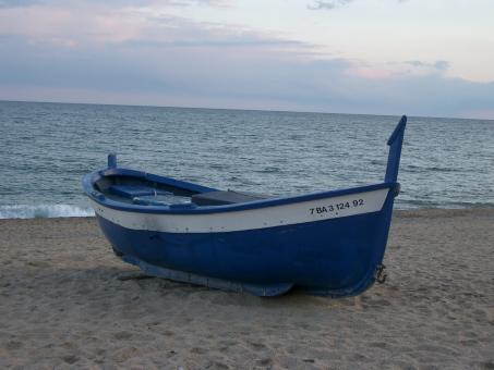 Free Stock Photo of Blue Boat