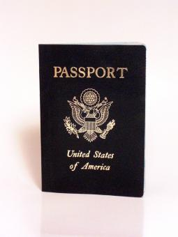 Free Stock Photo of American Passport