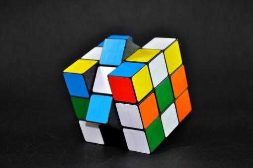 Free Stock Photo of Rubiks Cube
