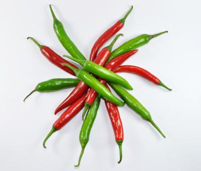 Free Stock Photo of Red & Green Chilli