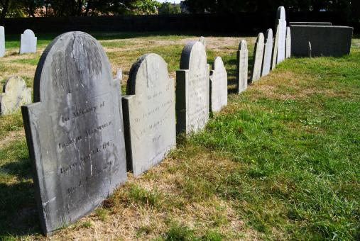 Free Stock Photo of Headstones