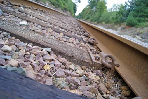 Free Stock Photo of Railroad Track