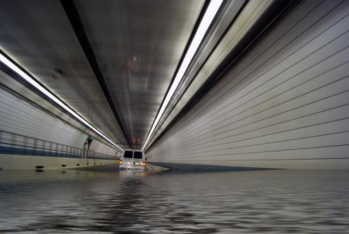 Free Stock Photo of Flooded Tunnel