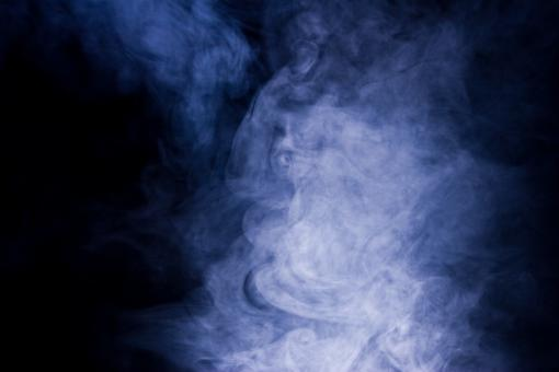 Free Stock Photo of Bluish Smoke Background