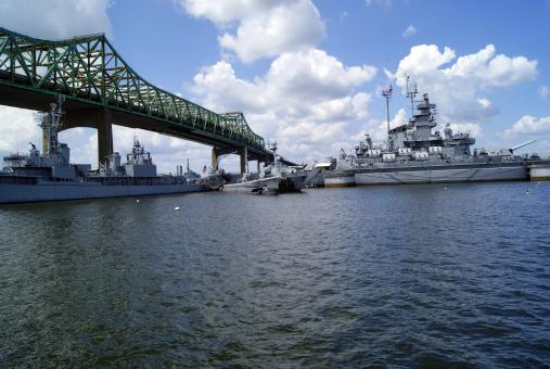 Free Stock Photo of Battleship Cove