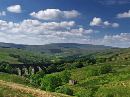 Free Stock Photo of Dent Dale Valley