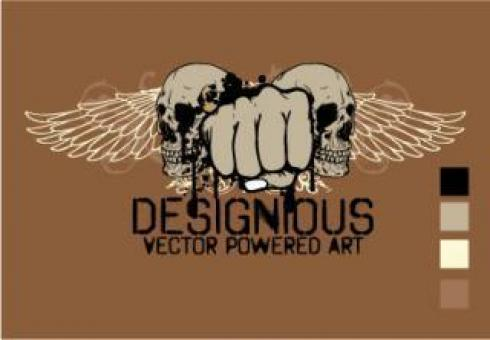 Free Stock Photo of Vector T-shirt Design 2