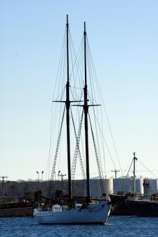 Free Stock Photo of Large Sailboat 1