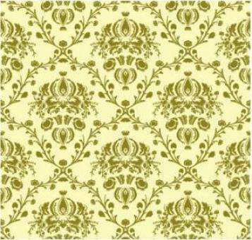 Free Stock Photo of Vector Damask Seamless Pattern