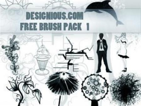 Free Stock Photo of Photoshop Brush Pack 1