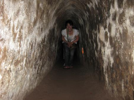 Free Stock Photo of Cu Chi Tunnel 2