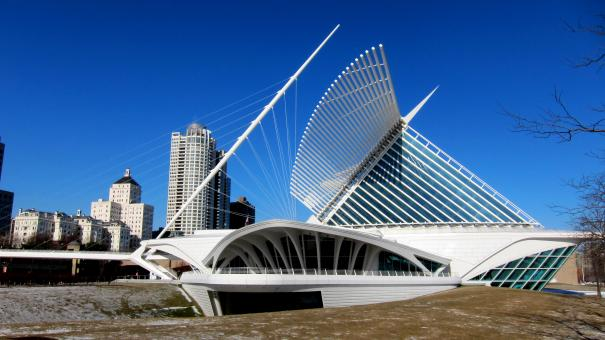 Free Stock Photo of Milwaukee Art Museum