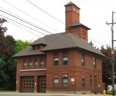 Free Stock Photo of Old Firehouse