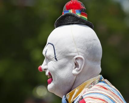 Free Stock Photo of Clown