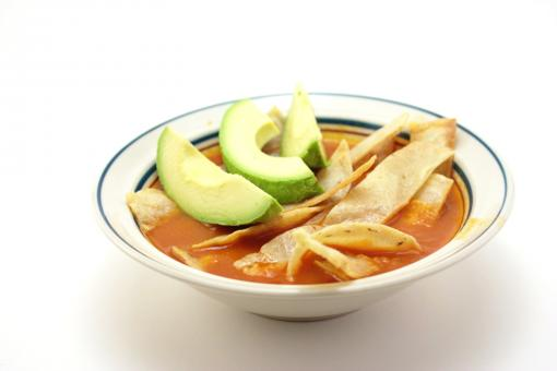 Free Stock Photo of Tortilla soup