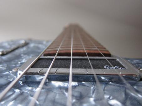 Free Stock Photo of Electric Guitar Strings