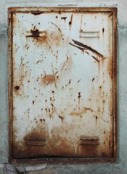 Free Stock Photo of Rusty Panel
