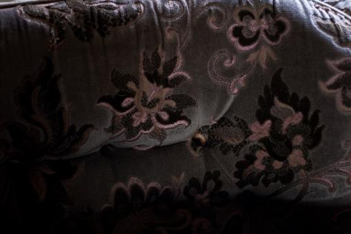 Free Stock Photo of Old Sofa Fabric