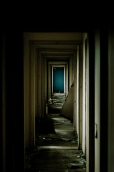 Free Stock Photo of Abandoned Hallway