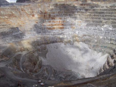 Free Stock Photo of Gold mine view