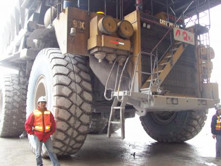 Free Stock Photo of Haul Truck and Me