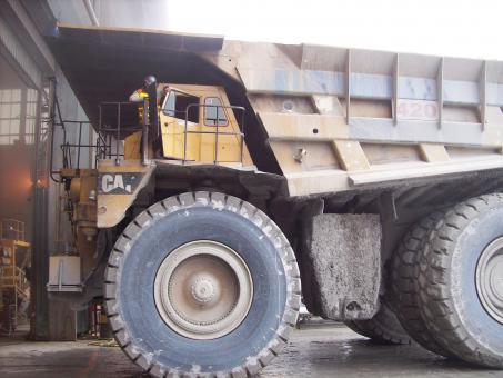 Free Stock Photo of Haul Truck