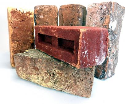 Free Stock Photo of Bricks close up