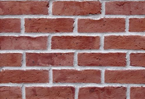 Free Stock Photo of Red Brick Wall Texture