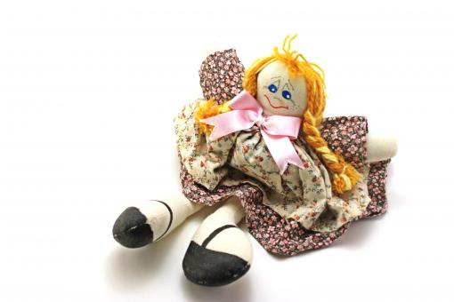 Free Stock Photo of Fashion handmade doll