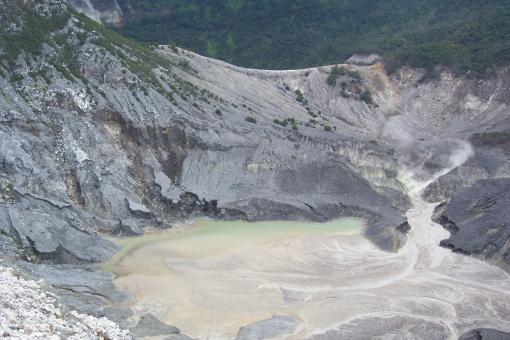 Free Stock Photo of Volcanic Crater