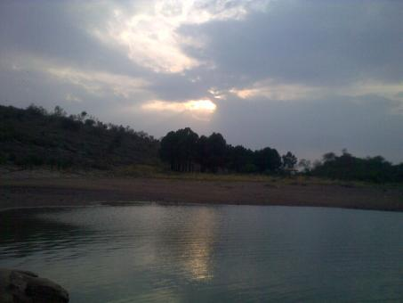 Free Stock Photo of Exotic view in backend of Rawal Dam
