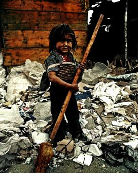 Free Stock Photo of Poverty And Child Labor