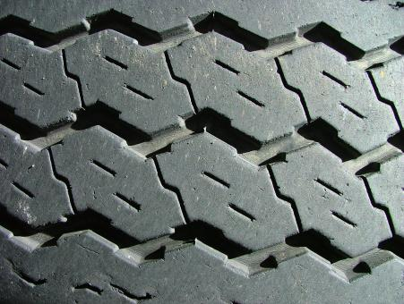 Free Stock Photo of Tyre Treads