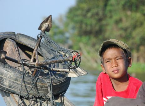 Free Stock Photo of Young fisherman