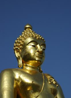 Free Stock Photo of Gold Buddha