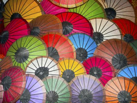 Free Stock Photo of Umbrellas