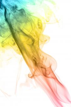 Free Stock Photo of Multi-Colored Smoke