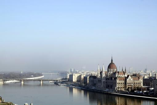 Free Stock Photo of Budapest parliament